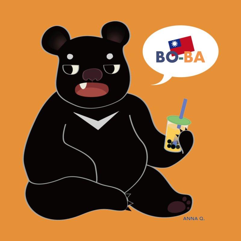 Boba Bear Accessories Sticker by Anna Art X Design