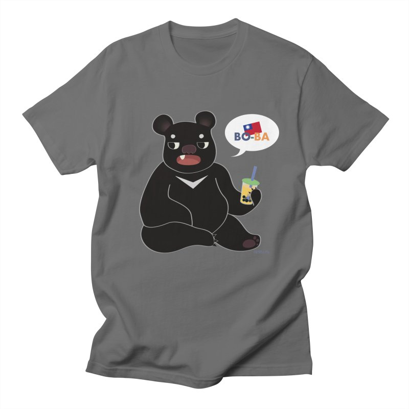 Boba Bear Men's T-Shirt by Anna Art X Design