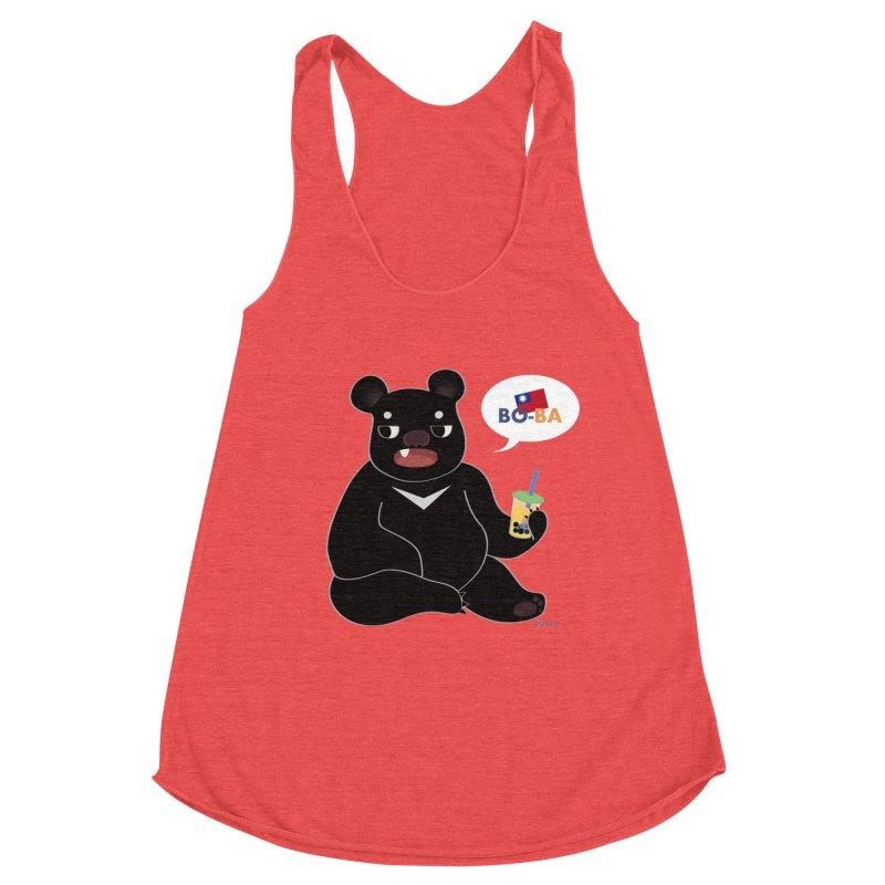 Boba Bear Women's Tank by Anna Art X Design