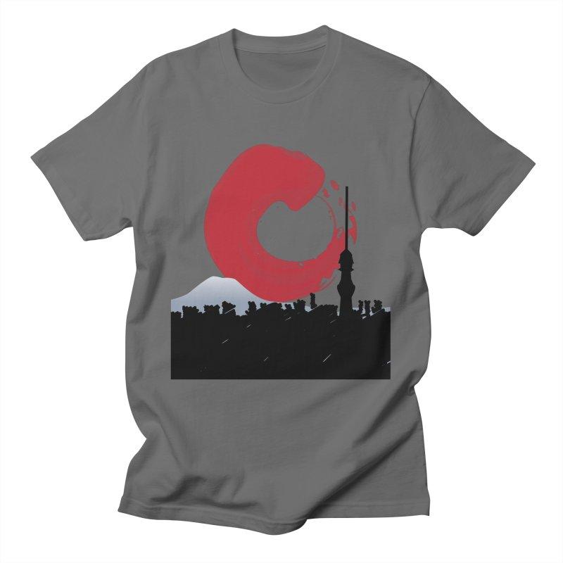 Tokyo Skyline Men's T-Shirt by Anna Art X Design