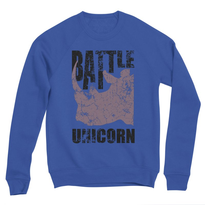 Battle Unicorn Men's Sweatshirt by Anna Art X Design