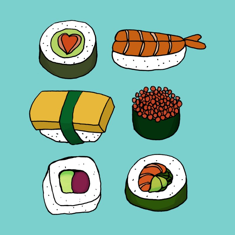 Sushi Love by annie's Artist Shop