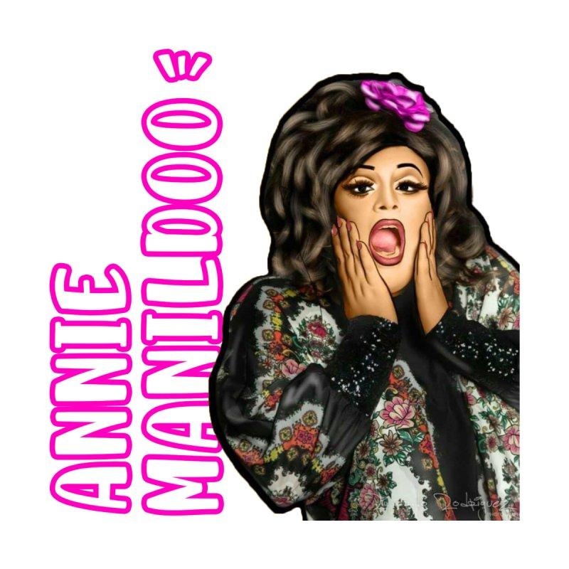 Annie's classic logo part two! Women's V-Neck by anniemanildoo's Artist Shop