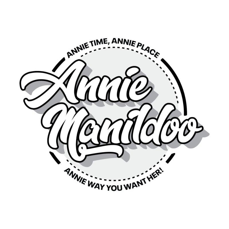 Annie round logo 2 Women's V-Neck by anniemanildoo's Artist Shop