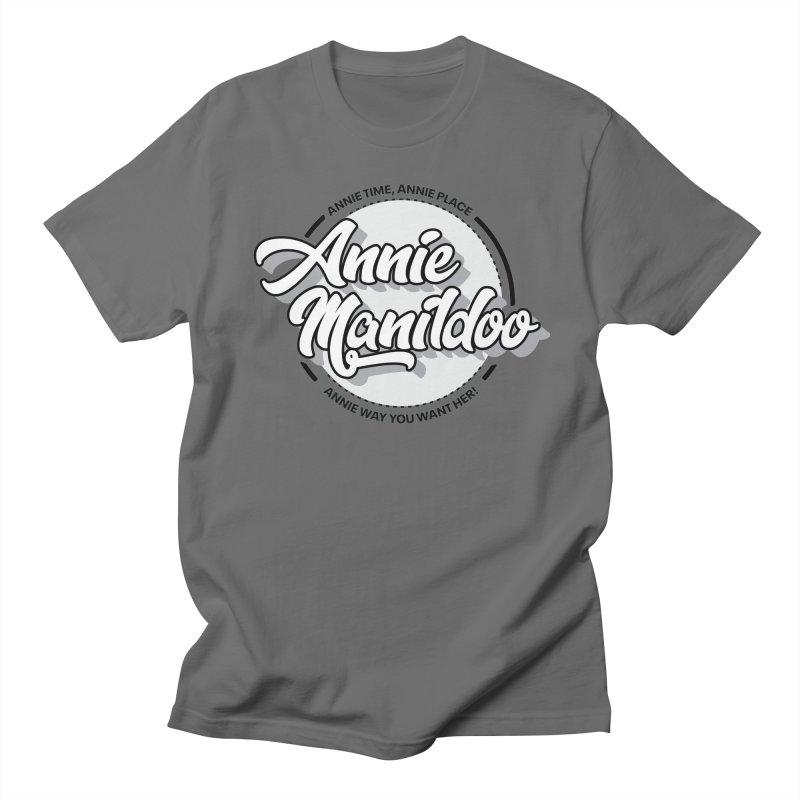 Annie round logo 2 Men's T-Shirt by anniemanildoo's Artist Shop
