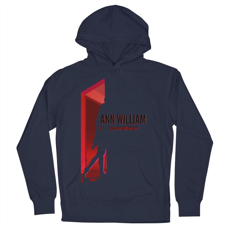 Krissy in the Doorway Men's French Terry Pullover Hoody by The Ann William Fiction Writer(s) Artist Shop