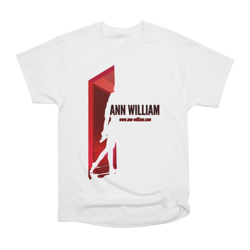 Krissy in the Doorway Men's Heavyweight T-Shirt by The Ann William Fiction Writer(s) Artist Shop