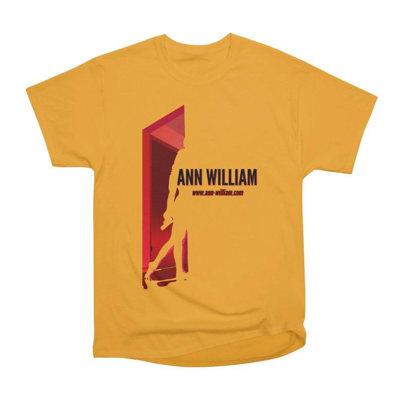 Krissy in the Doorway Men's Heavyweight T-Shirt by The Ann William Fiction Writer(s) Artist Shop