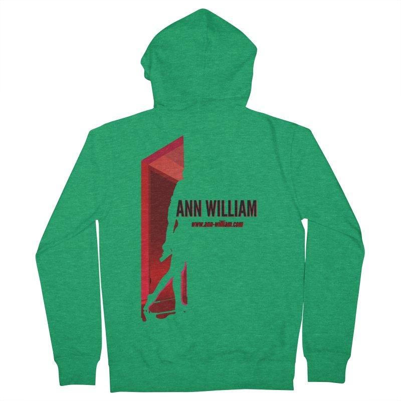 Krissy in the Doorway Men's French Terry Zip-Up Hoody by The Ann William Fiction Writer(s) Artist Shop