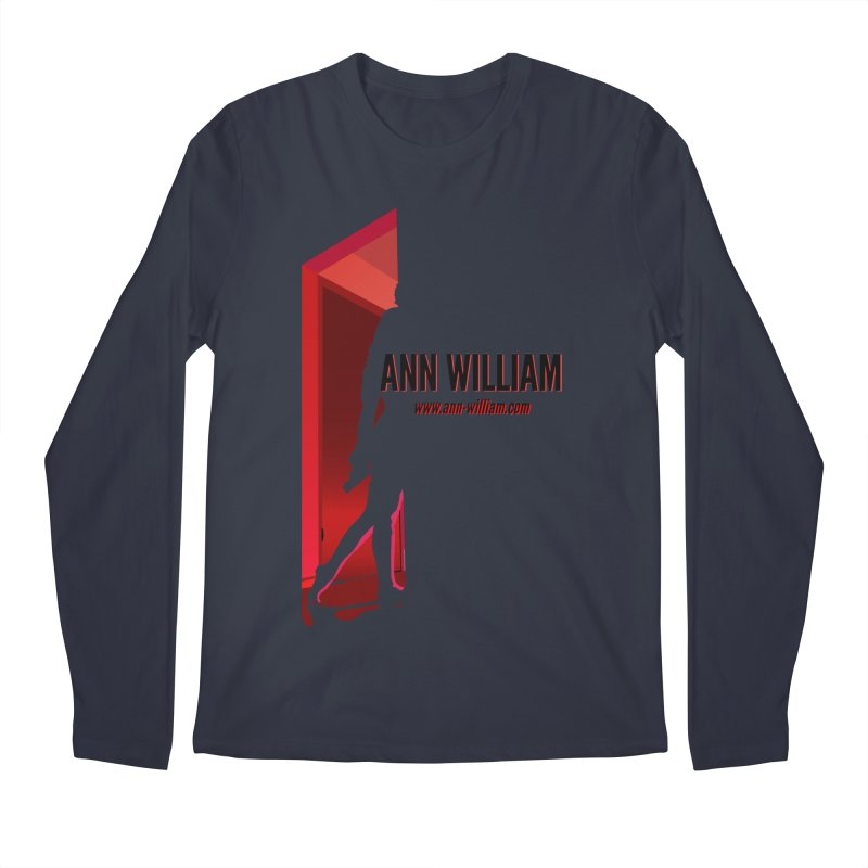 Krissy in the Doorway Men's Regular Longsleeve T-Shirt by The Ann William Fiction Writer(s) Artist Shop