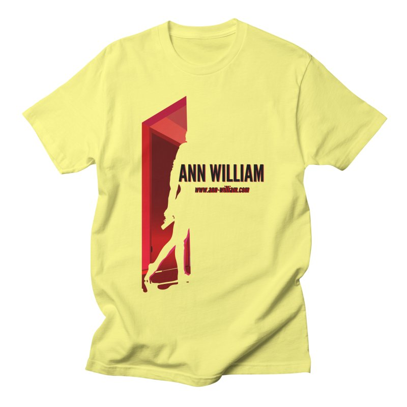 Krissy in the Doorway Men's Regular T-Shirt by The Ann William Fiction Writer(s) Artist Shop