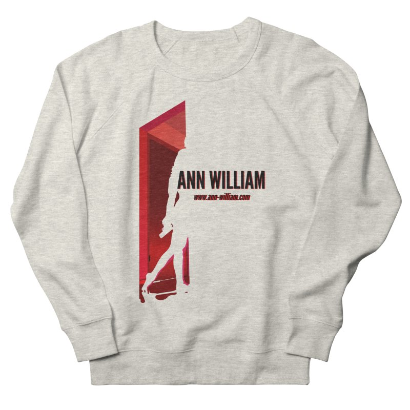 Krissy in the Doorway Men's French Terry Sweatshirt by The Ann William Fiction Writer(s) Artist Shop