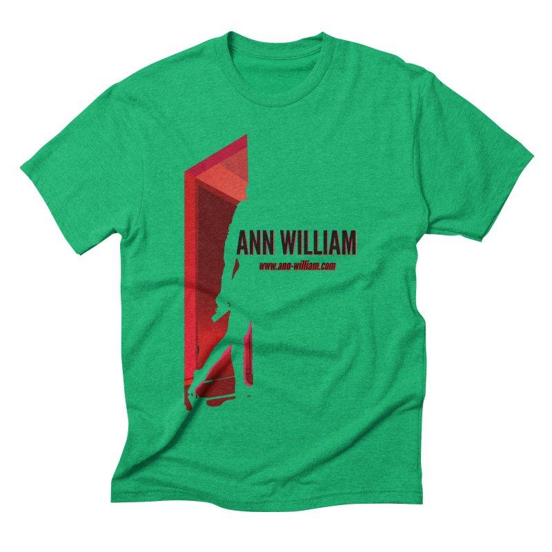 Krissy in the Doorway Men's Triblend T-Shirt by The Ann William Fiction Writer(s) Artist Shop