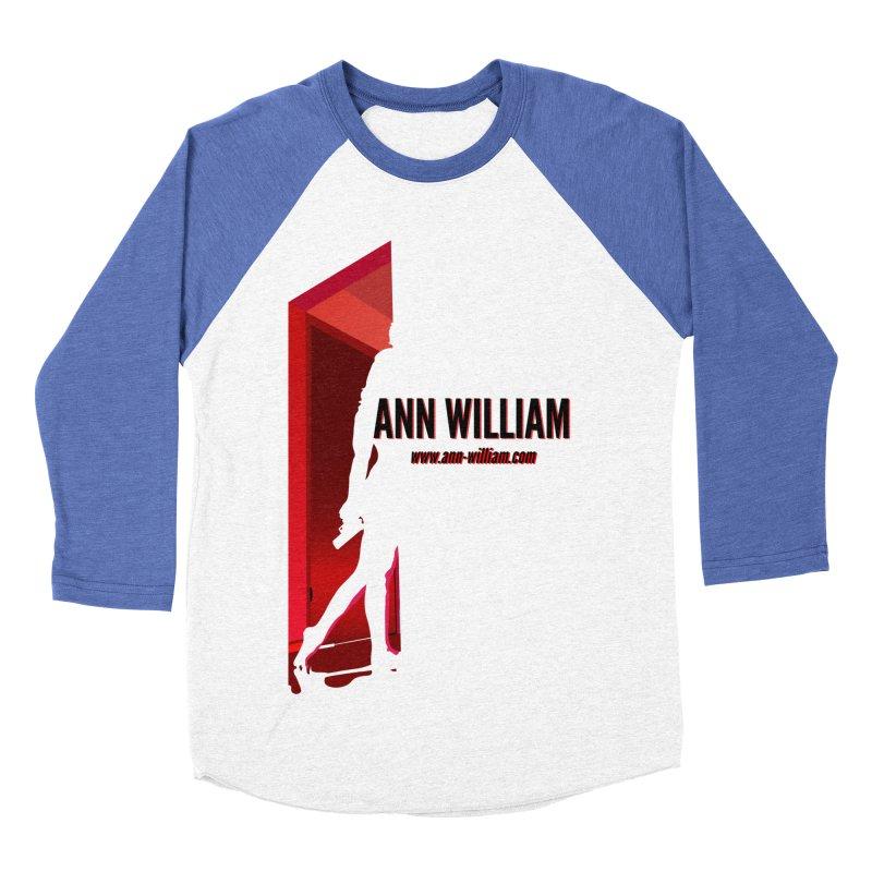 Krissy in the Doorway Women's Baseball Triblend Longsleeve T-Shirt by The Ann William Fiction Writer(s) Artist Shop