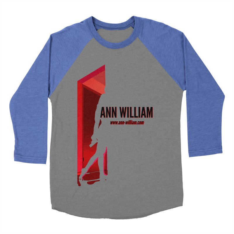 Krissy in the Doorway Women's Baseball Triblend Longsleeve T-Shirt by The Ann William Fiction Writer(s) Artist Shop