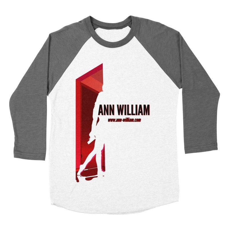 Krissy in the Doorway Men's Baseball Triblend Longsleeve T-Shirt by The Ann William Fiction Writer(s) Artist Shop