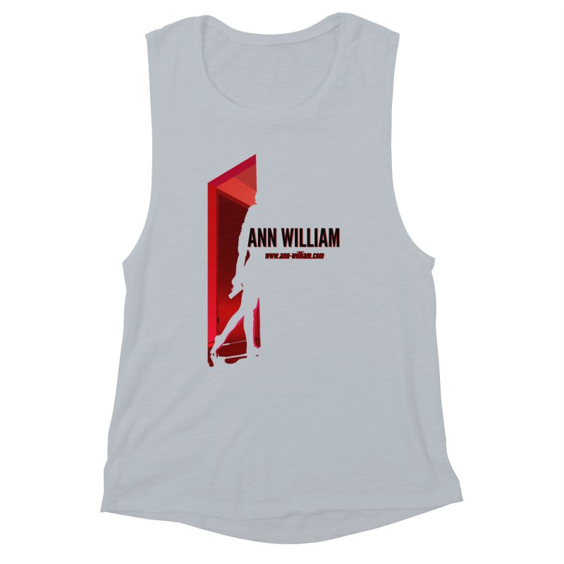 Krissy in the Doorway Women's Muscle Tank by The Ann William Fiction Writer(s) Artist Shop