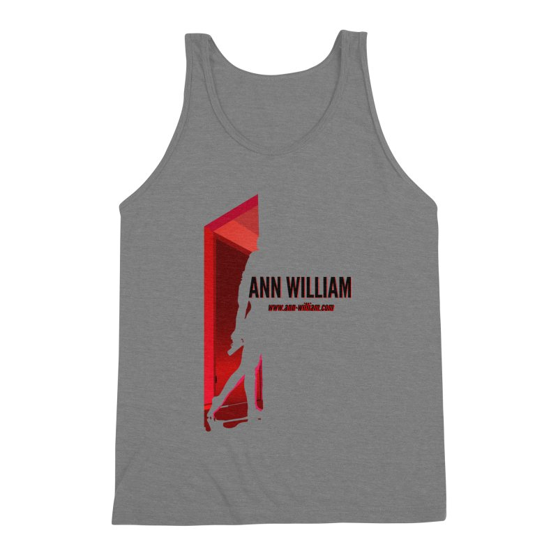 Krissy in the Doorway Men's Triblend Tank by The Ann William Fiction Writer(s) Artist Shop