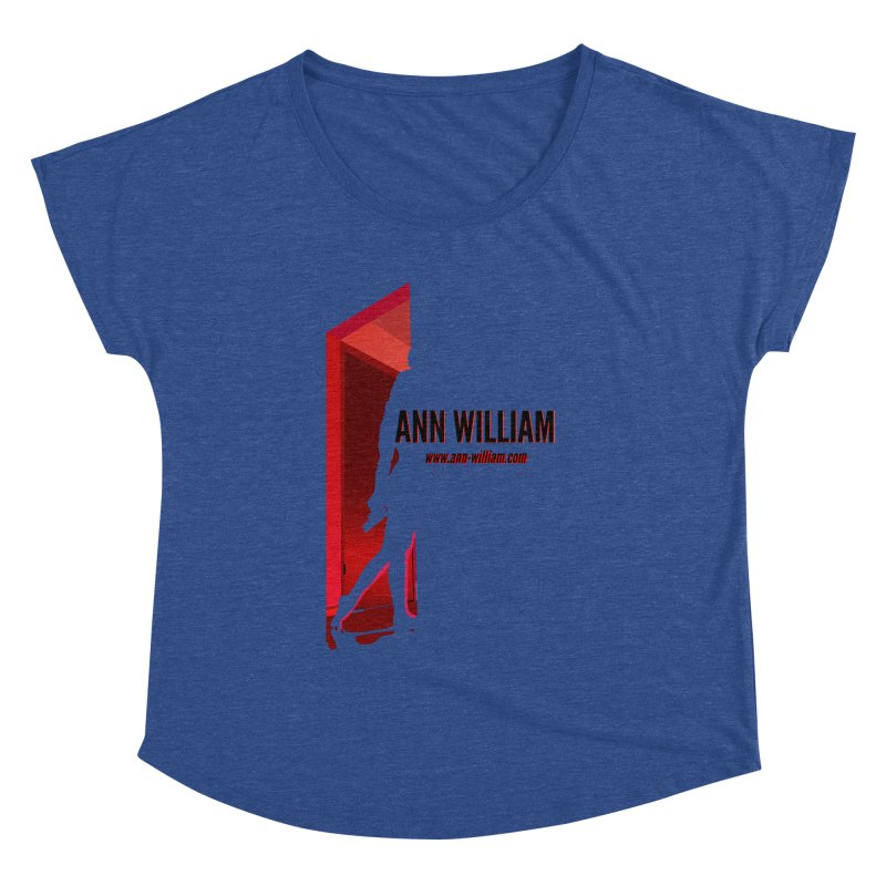 Krissy in the Doorway Women's Dolman Scoop Neck by The Ann William Fiction Writer(s) Artist Shop