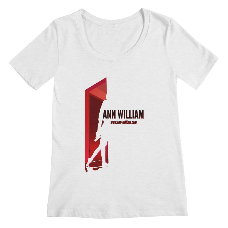 Krissy in the Doorway Women's Regular Scoop Neck by The Ann William Fiction Writer(s) Artist Shop