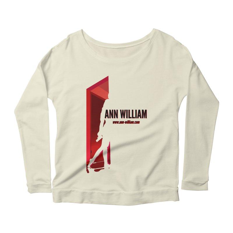 Krissy in the Doorway Women's Scoop Neck Longsleeve T-Shirt by The Ann William Fiction Writer(s) Artist Shop