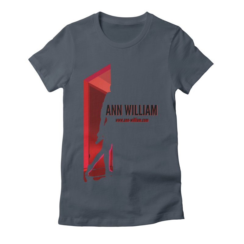 Krissy in the Doorway Women's Fitted T-Shirt by The Ann William Fiction Writer(s) Artist Shop