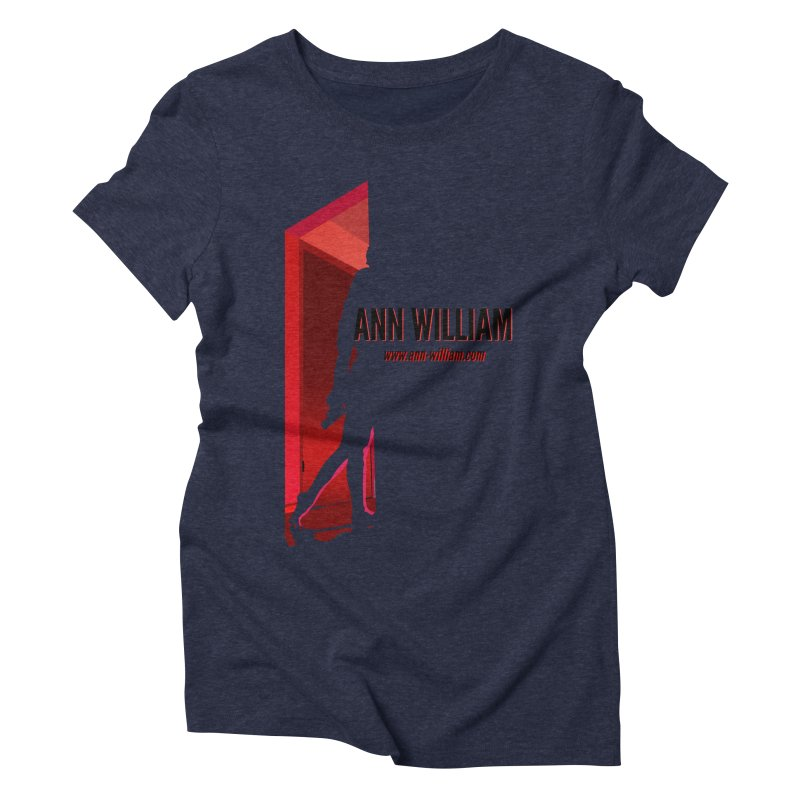 Krissy in the Doorway Women's Triblend T-Shirt by The Ann William Fiction Writer(s) Artist Shop