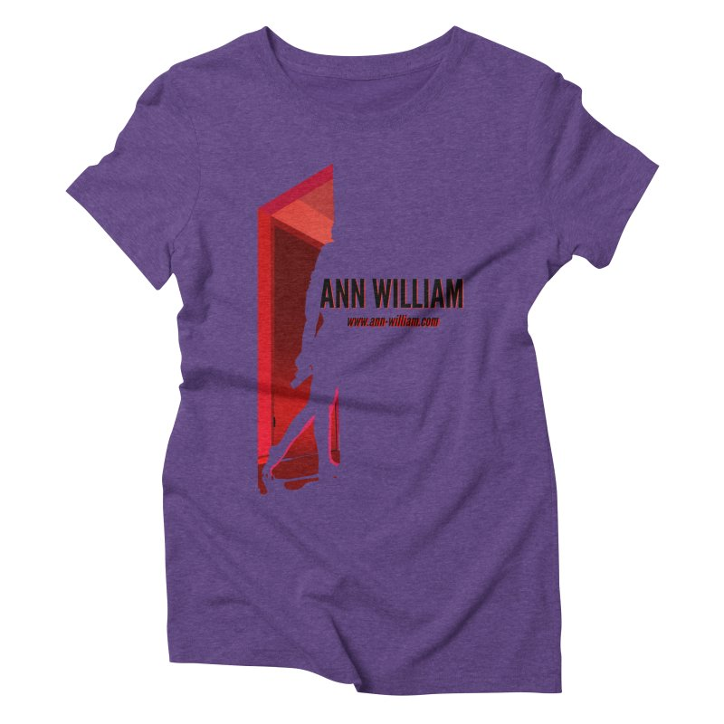 Krissy in the Doorway Women's Triblend T-Shirt by The Ann William Fiction Writer(s) Artist Shop