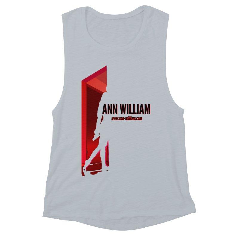 Krissy in the Doorway Women's Muscle Tank by The Ann William Fiction Writer(s) Artist Shop