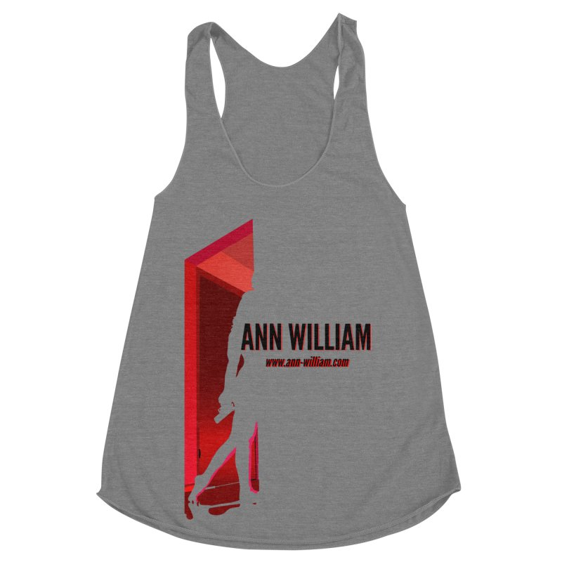 Krissy in the Doorway Women's Racerback Triblend Tank by The Ann William Fiction Writer(s) Artist Shop