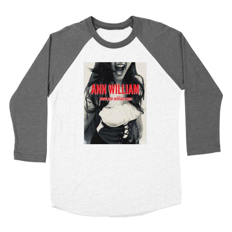 Screaming Krissy Women's Baseball Triblend Longsleeve T-Shirt by The Ann William Fiction Writer(s) Artist Shop