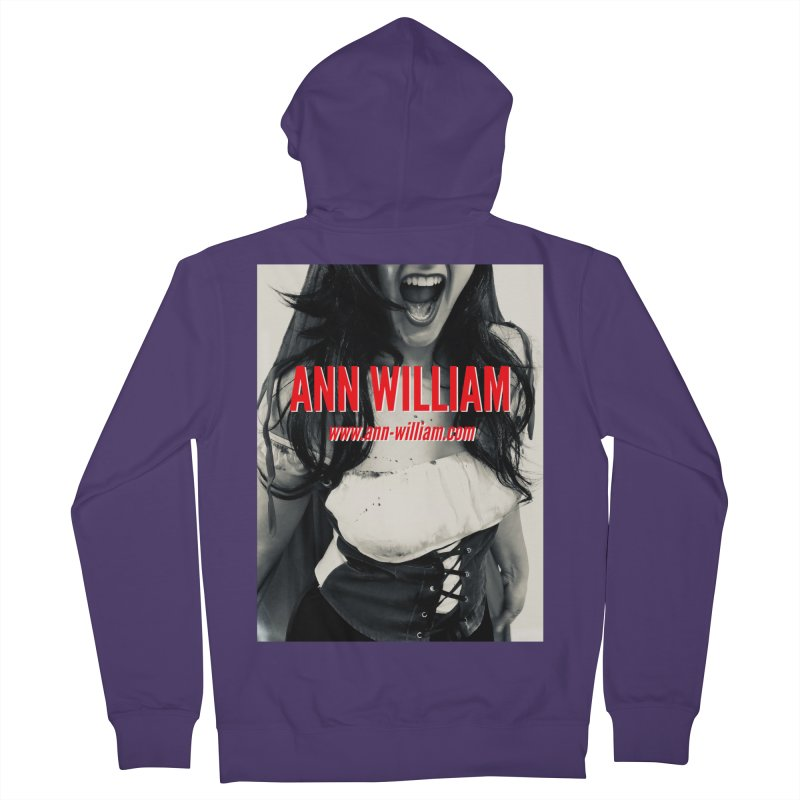 Screaming Krissy Women's French Terry Zip-Up Hoody by The Ann William Fiction Writer(s) Artist Shop