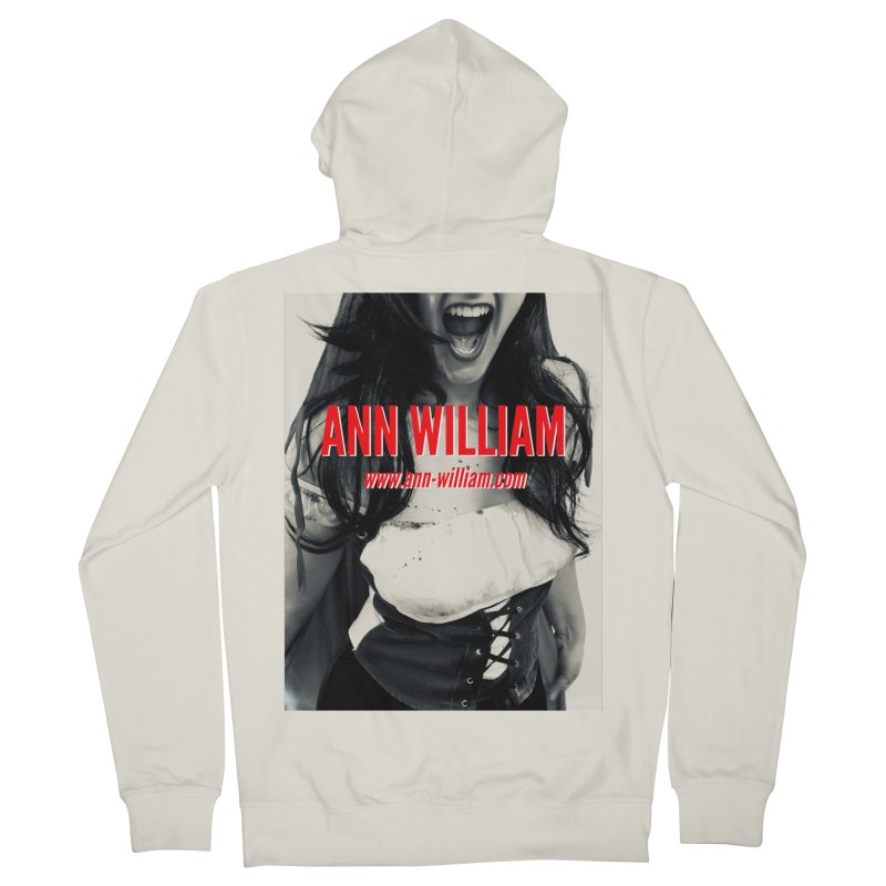 Screaming Krissy Men's French Terry Zip-Up Hoody by The Ann William Fiction Writer(s) Artist Shop