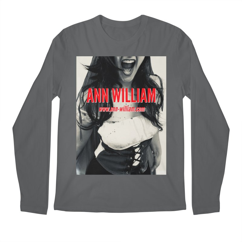 Screaming Krissy Men's Regular Longsleeve T-Shirt by The Ann William Fiction Writer(s) Artist Shop