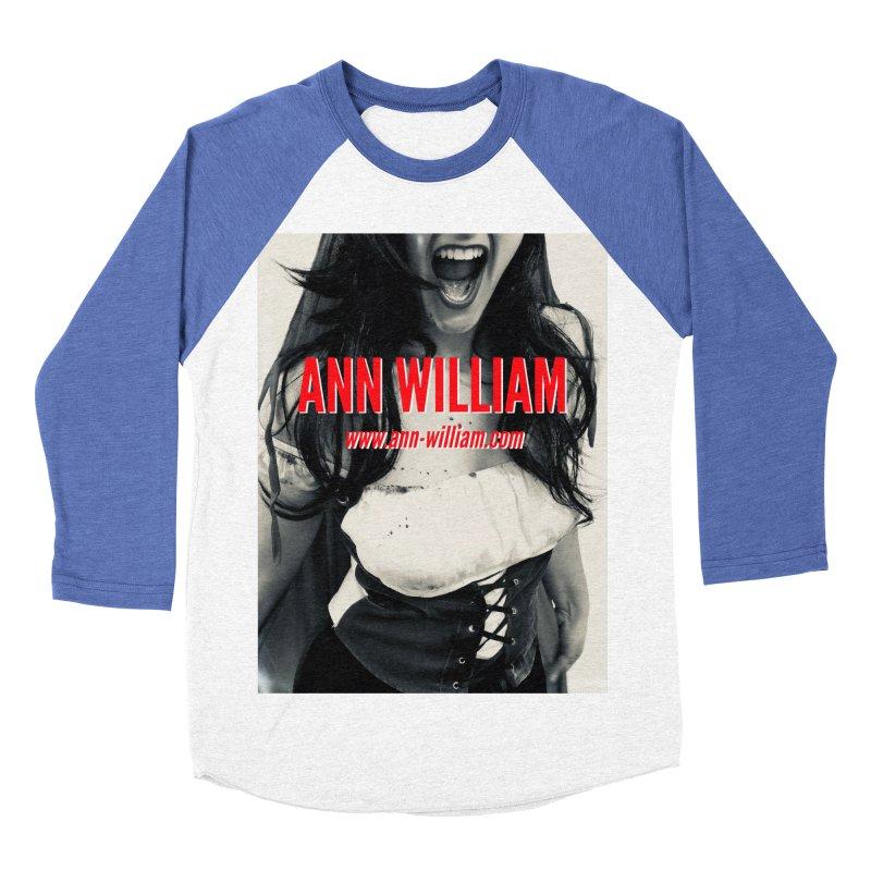 Screaming Krissy Men's Baseball Triblend Longsleeve T-Shirt by The Ann William Fiction Writer(s) Artist Shop