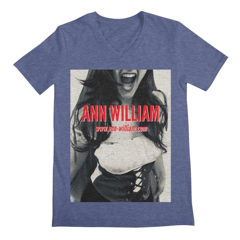 Screaming Krissy Men's Regular V-Neck by The Ann William Fiction Writer(s) Artist Shop