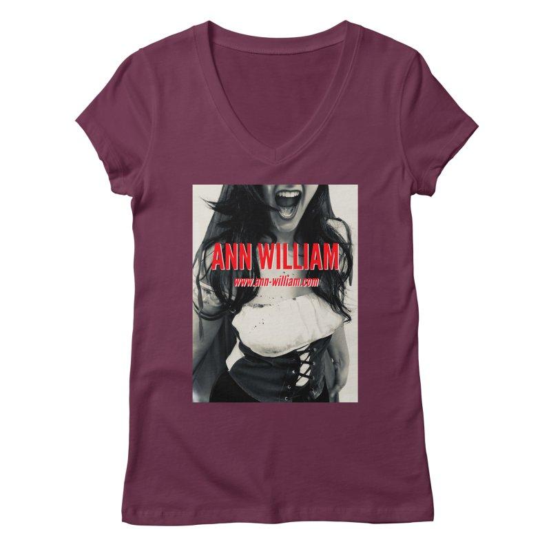 Screaming Krissy Women's Regular V-Neck by The Ann William Fiction Writer(s) Artist Shop