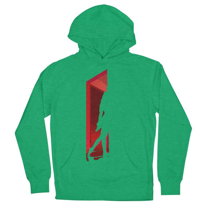 Krissy in the Doorway (No Text Version) Women's French Terry Pullover Hoody by The Ann William Fiction Writer(s) Artist Shop