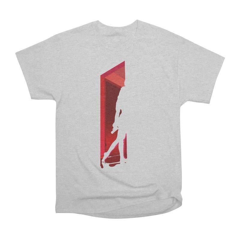 Krissy in the Doorway (No Text Version) Men's Heavyweight T-Shirt by The Ann William Fiction Writer(s) Artist Shop