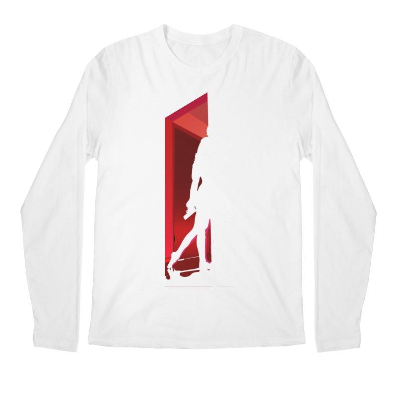 Krissy in the Doorway (No Text Version) Men's Regular Longsleeve T-Shirt by The Ann William Fiction Writer(s) Artist Shop