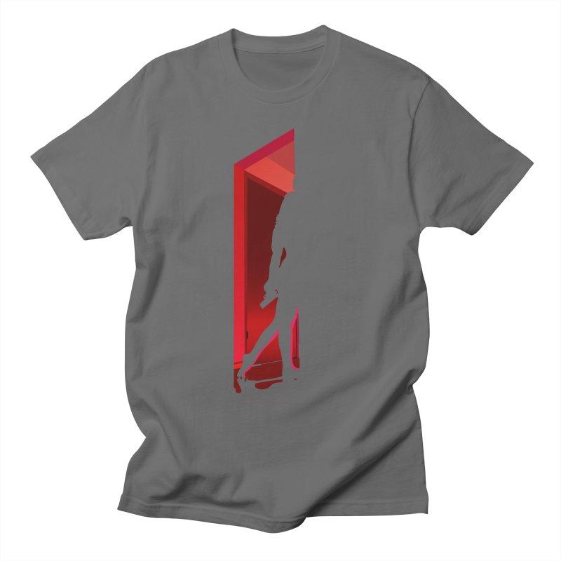 Krissy in the Doorway (No Text Version) Men's T-Shirt by The Ann William Fiction Writer(s) Artist Shop