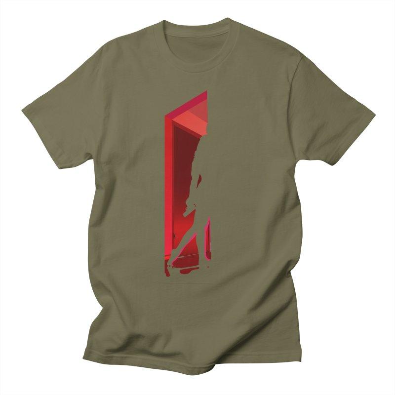 Krissy in the Doorway (No Text Version) Men's Regular T-Shirt by The Ann William Fiction Writer(s) Artist Shop