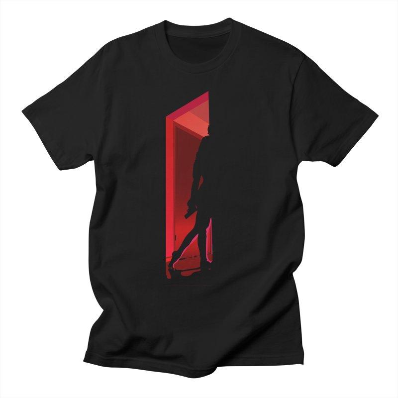 Krissy in the Doorway (No Text Version) Women's Regular Unisex T-Shirt by The Ann William Fiction Writer(s) Artist Shop