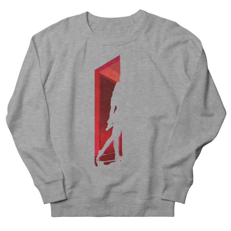 Krissy in the Doorway (No Text Version) Women's French Terry Sweatshirt by The Ann William Fiction Writer(s) Artist Shop