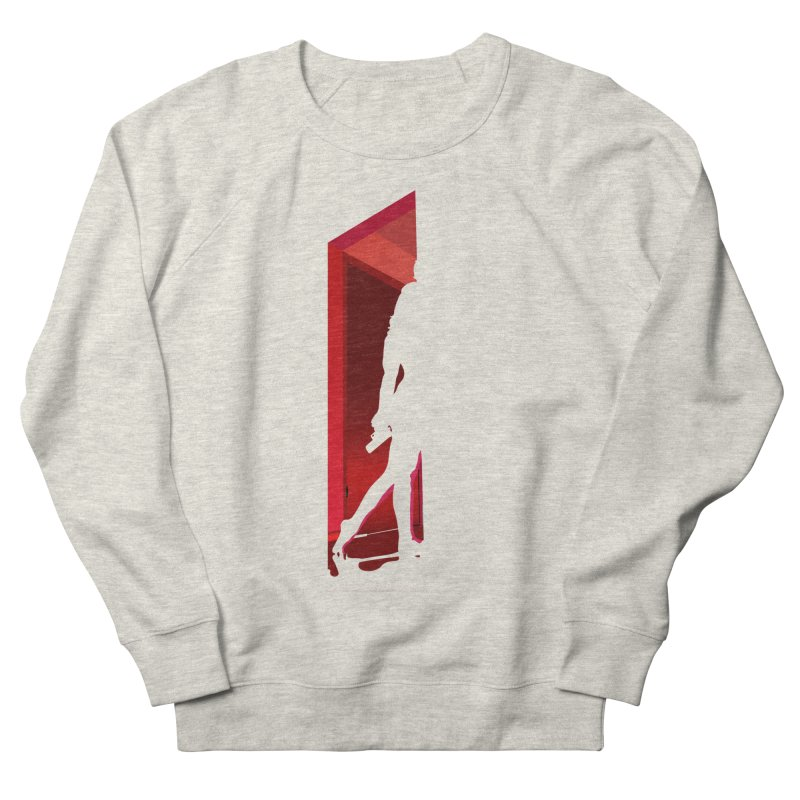 Krissy in the Doorway (No Text Version) Men's French Terry Sweatshirt by The Ann William Fiction Writer(s) Artist Shop