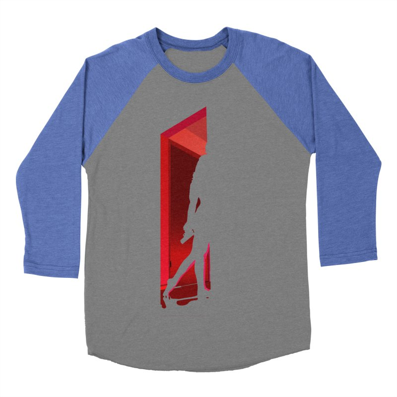Krissy in the Doorway (No Text Version) Women's Baseball Triblend Longsleeve T-Shirt by The Ann William Fiction Writer(s) Artist Shop