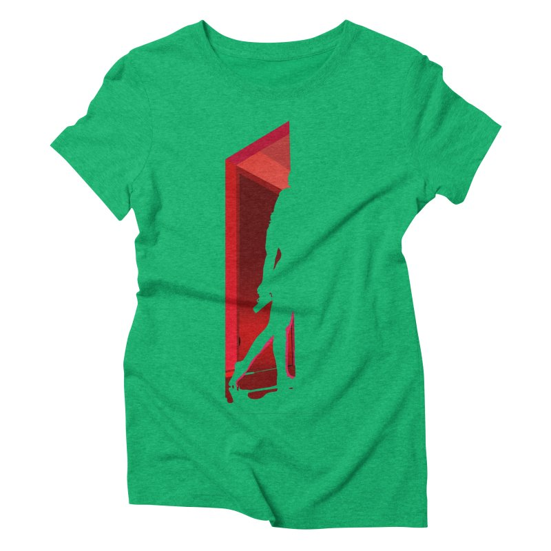 Krissy in the Doorway (No Text Version) Women's Triblend T-Shirt by The Ann William Fiction Writer(s) Artist Shop
