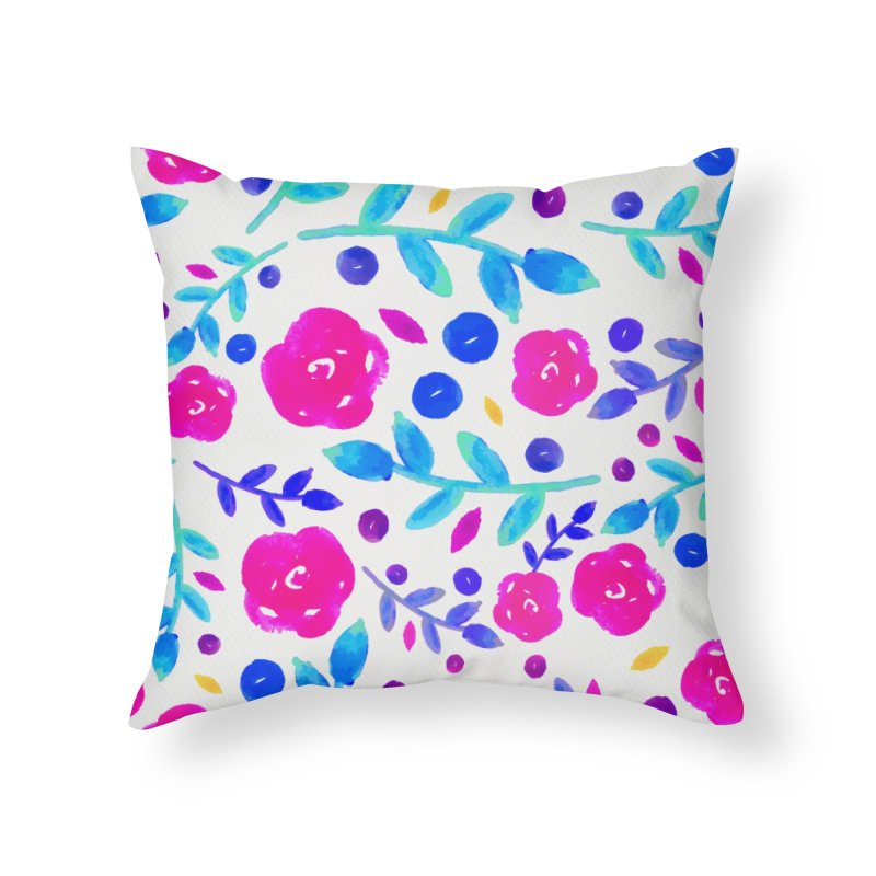 Petites Blumen  Home Throw Pillow by AnnyCeciliaWalter's Galerie