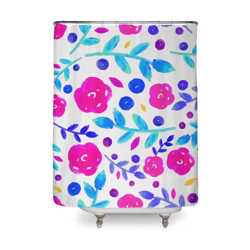 Petites Blumen  Home Shower Curtain by AnnyCeciliaWalter's Galerie