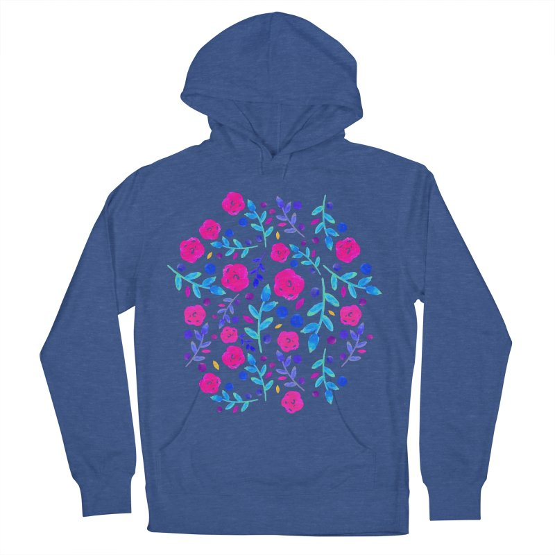 Petites Blumen  Women's Pullover Hoody by AnnyCeciliaWalter's Galerie